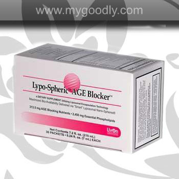 Lypo-Spheric AGE Blocker (เอจบล็อก) 1 กล่อง 30 ซอง ราคา 1350 บาท