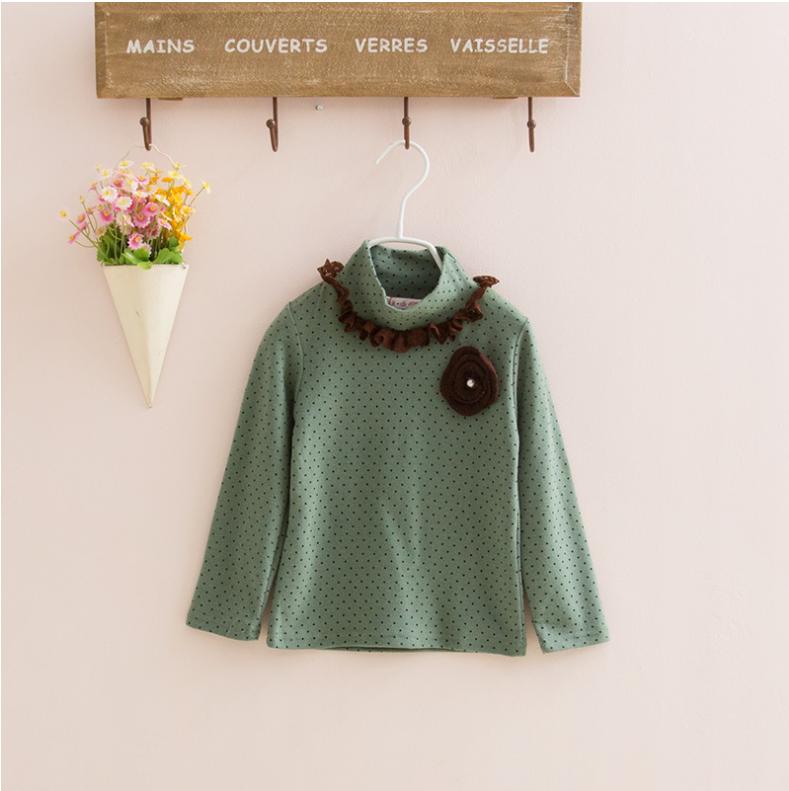 เสื้อ สีเขียว แพ็ค 5ชุด ไซส์ 100-110-120-130-140