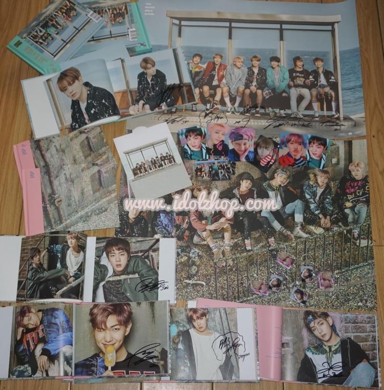 อัลบั้มพร้อมลายเซ็นของแท้ #BTS - Album [WINGS : You Never Walk Alone] : ระบุปก