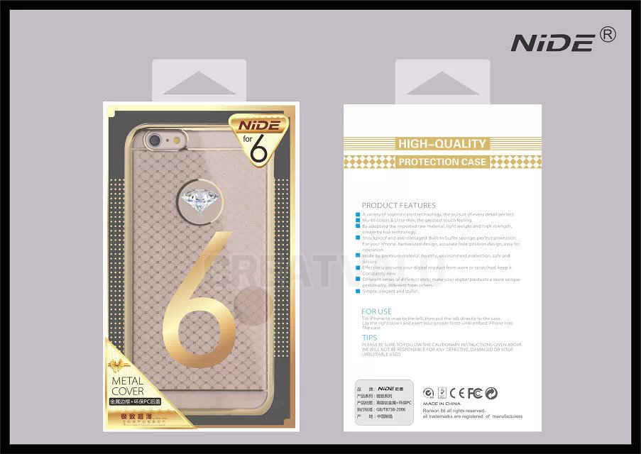 NiDE เคสประกบ iphone6/6s 4.7 นิ้ว