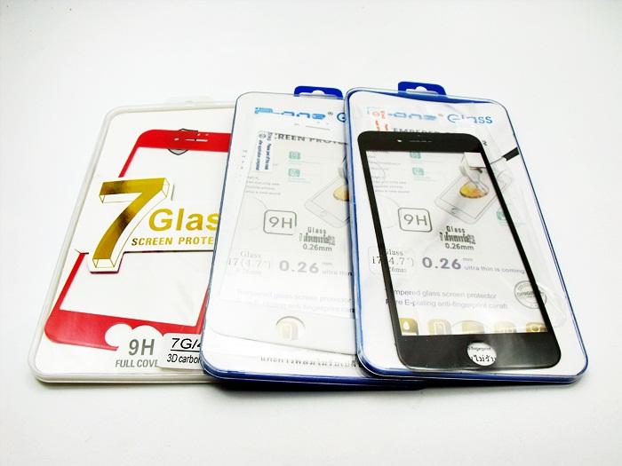 ฟิล์มกระจก Iphone 7 -4.7 เต็มจอ ขอบโค้งมน นิ่ม