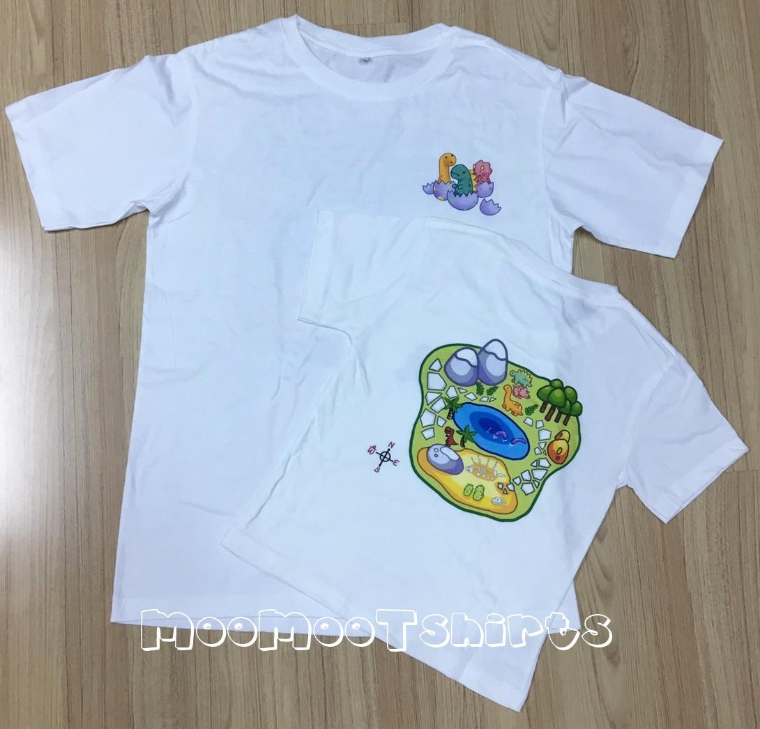 ลูกค้านำเสื้อยืดเด็กมาให้พิมพ์ด้วยระบบ DTG งานสวย น่ารักสดใสสุดๆ