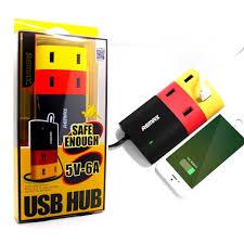 ที่ชาร์จ REMAX 4 USB HUB