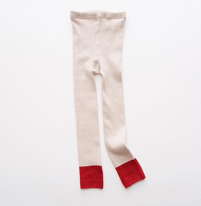 ถุงเท้าน้อง สีครีม แพ็ค 6 คู่ ไซส์ ประมาณ 125 ซม