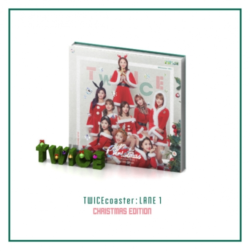 (TWICE) - TWICECOASTER : LANE 1 (3rd Mini Album) [Christmas Edition] + โปสเตอร์