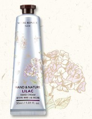 ์Nature Republic Hand Cream :Lilac