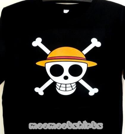 เสื้อดำสกรีนลายหัวกะโหลก รับสกรีนเสื้อระบบดิจิตอล DTG งานสวย งานไว คุณภาพดีมาก