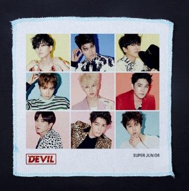 ผ้าเช็ดหน้า Super Junior SJ