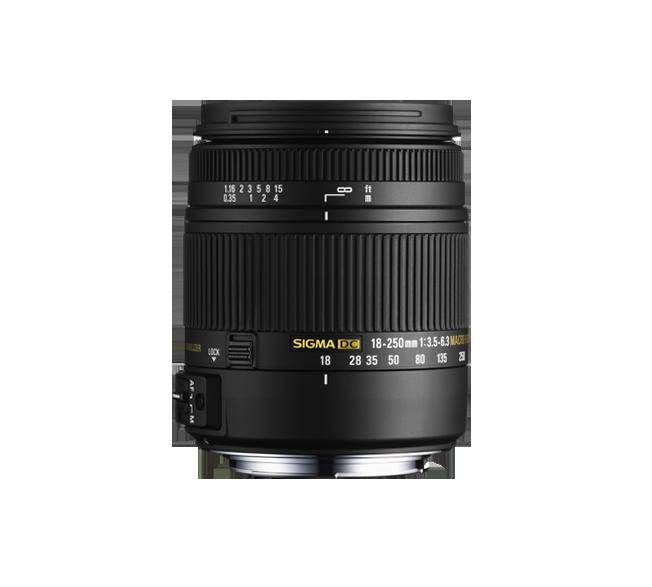 18-250mm F3.5-6.3 DC (OS)* MACRO HSM For Nikon