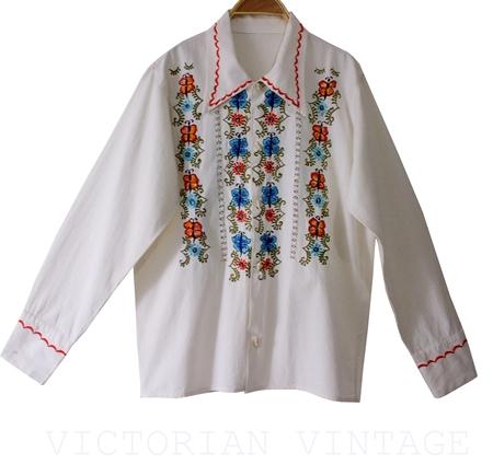 เสื้อวินเทจ เสื้อปัก Vintage Blouses