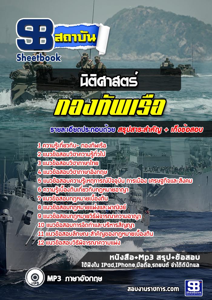 แนวข้อสอบนิติศาสตร์ กองทัพเรือ NEW
