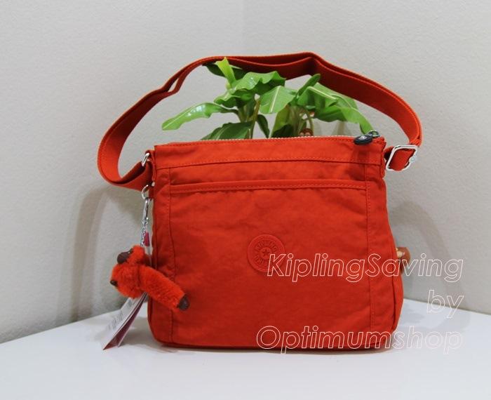 Kipling Moyelle Sunbrnt Orange กระเป๋าสะพายน่ารัก ขนาด 25 L x 18 H x 7 W cm