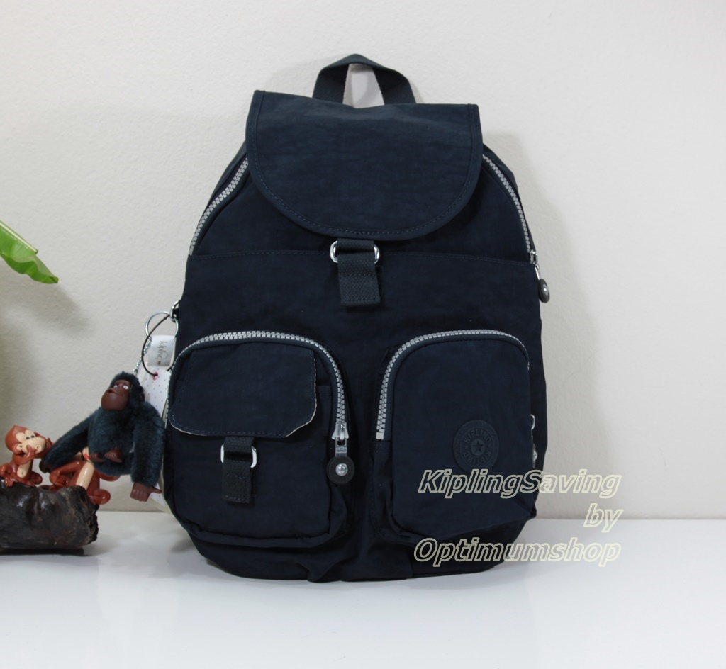 Kipling Firefly LN True Blue กระเป๋าสะพายขนาดกลาง ขนาด L 10.25 x H 13 x D 7.25 นิ้ว