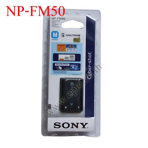 Li-on Rechargeable battery NP-FM50 For Sony FM30 F717 S70S85 F707 F828 S75 S85 R แบตเตอรี่กล้องโซนี่