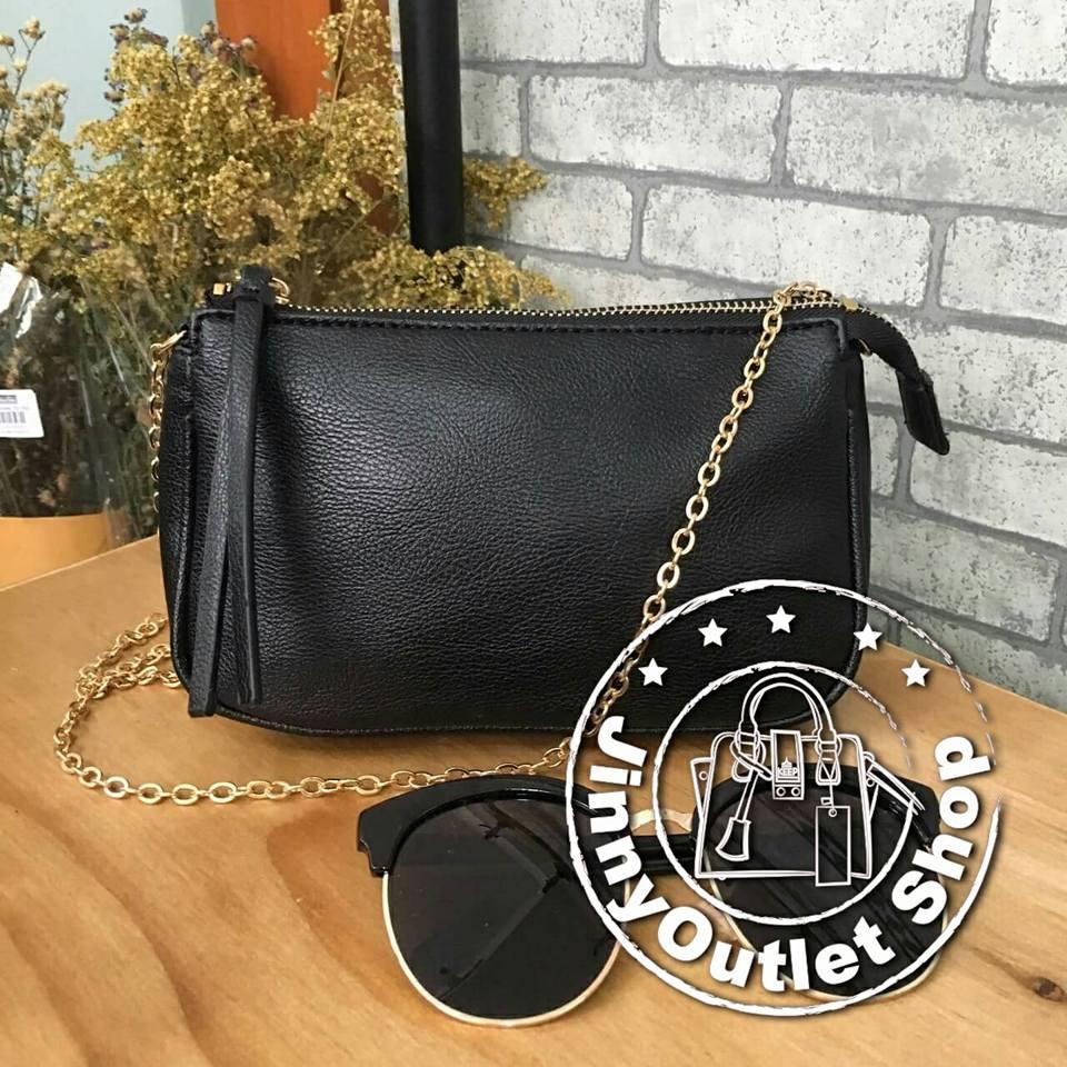 H & M { Shoulder & Clutch Bag }