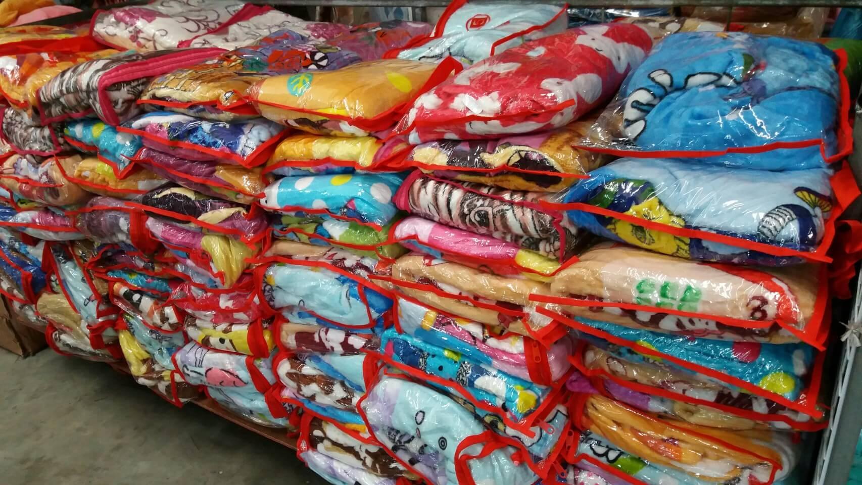 ขายส่ง ผ้าห่มนาโน 5 ฟุต แบบบาง ลายการ์ตูน ส่ง 55 บาท