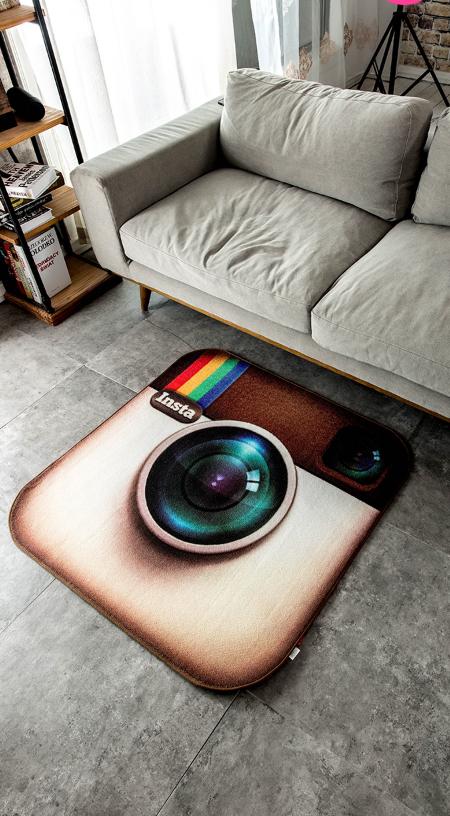 พรมปูพื้น Icon Instagram