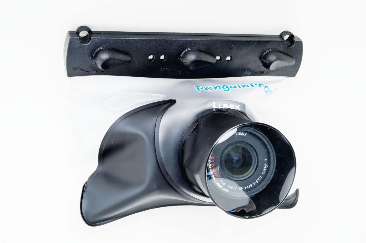MD-04 ซองกันน้ำสำหรับกล้อง Mirrorless ที่มีช่องมองภาพ (Viewfinder) หรือ ขนาดใหญ่