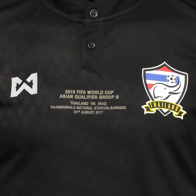 เสื้อทีมชาติไทย Match Detial ทีมชาติไทย VS อิรัก