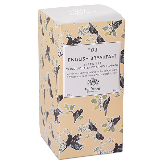 WTDB01-English Breakfast- 25 tea bags/กล่อง (Discovery Collection)