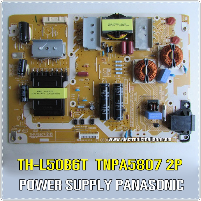 POWER SUPPLY PANASONIC TH-L50B6T TNPA5807 2P