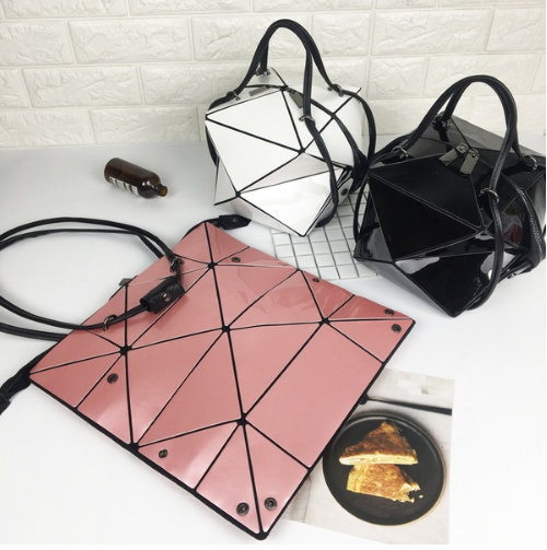 กระเป๋าสะพายข้างผู้หญิงพับได้ Fashion woman (Pink)