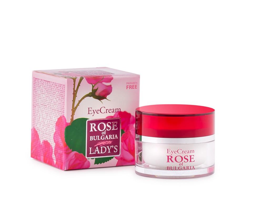 Rose of Bulgaria Eye Cream ครีมบำรุงรอบดวงตาผสมกุหลาบ 25ml.