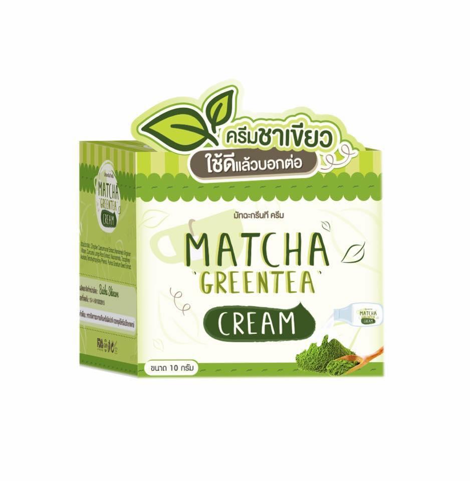 Matcha Greentea cream ครีมชาเขียวมัทฉะ