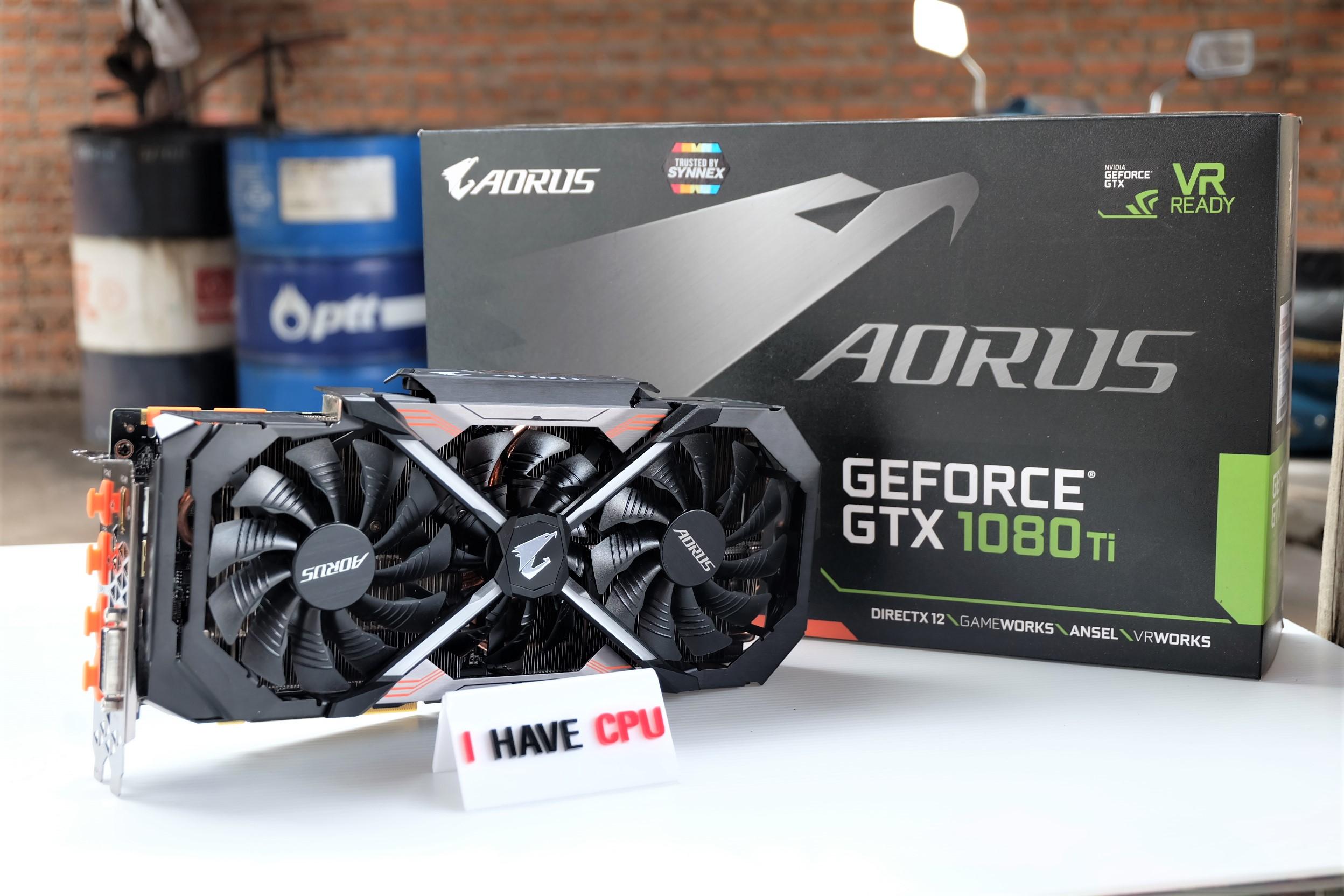AORUS GeForce® GTX 1080 Ti Xtreme Edition 11G