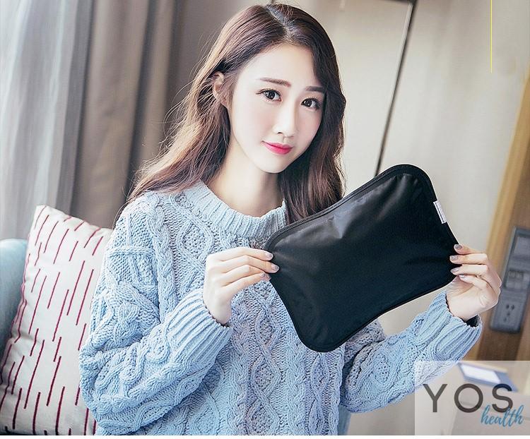 กระเป๋าน้ําร้อนไฟฟ้า Y416-BL สีดำ