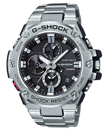 นาฬิกา Casio G-Shock G-STEEL wtih Blutooth series รุ่น GST-B100D-1A ของแท้ รับประกัน1ปี