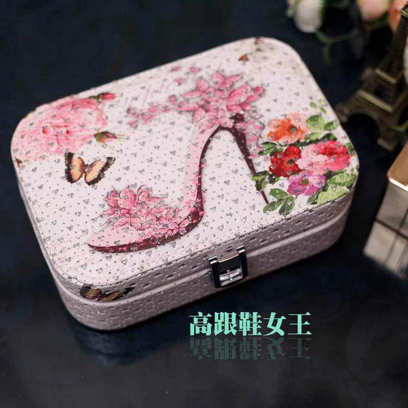 Abocos Jewelry Box so cute กล่องเก็บเครื่องประดับสุดน่ารัก