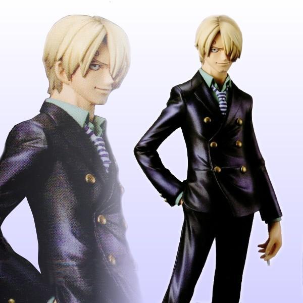 Sanji ของแท้ JP แมวทอง - Grandline Men Banpresto DX [โมเดลวันพีช]