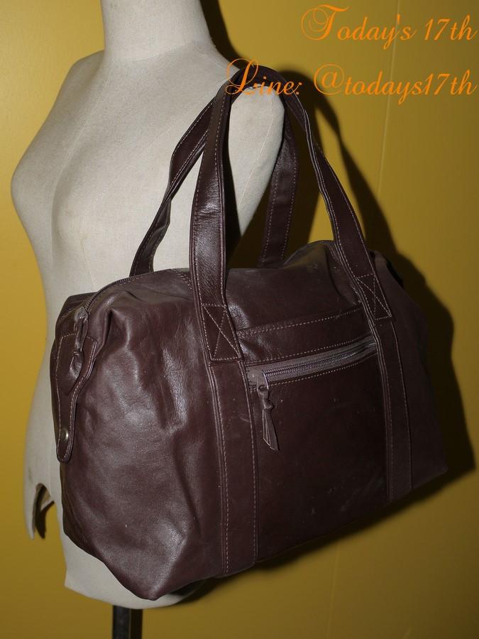 กระเป๋าหนังแท้สะพายไหล่/เดินทาง