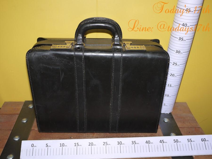 กระเป๋าเอกสารหนังแท้ Vintage