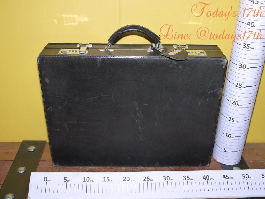 กระเป๋าเอกสารถือหนังแท้ Vintage