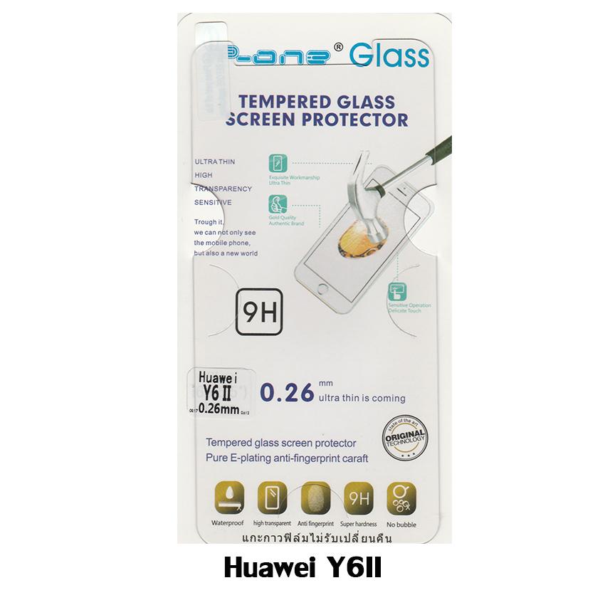 p-one ฟิล์มกระจก Huawei Y6II