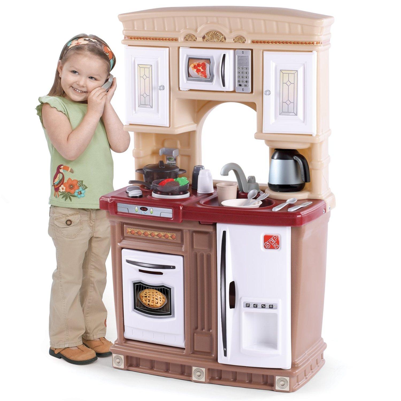 ครัวในฝันของเด็กๆ Step2 Lifestyle Fresh Accents Kitchen ขนาดพอเหมาะ ไม่เปลืองพื้นที่
