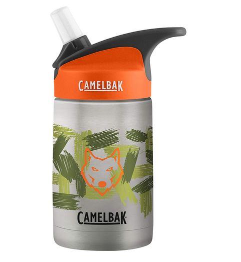 กระติกน้ำเด็ก สเเตนเลส CamelBak eddy Kids Vacuum Stainless Water Bottle, 12oz ลายสุนัขจิ้งจอก