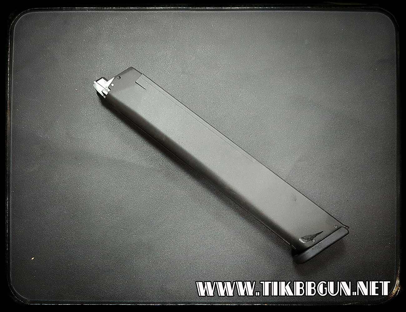 แม๊กยาวสำหรับปืนแก๊สโบลว์แบล็ค G17 G18 G19 G23 G33(GBB)