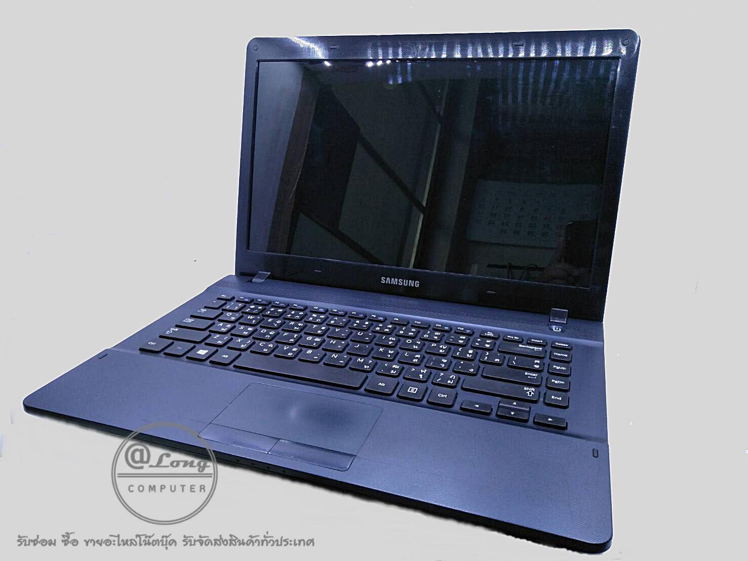 โน๊ตบุ๊คมือสอง Samsung NP270E4V-K02TH