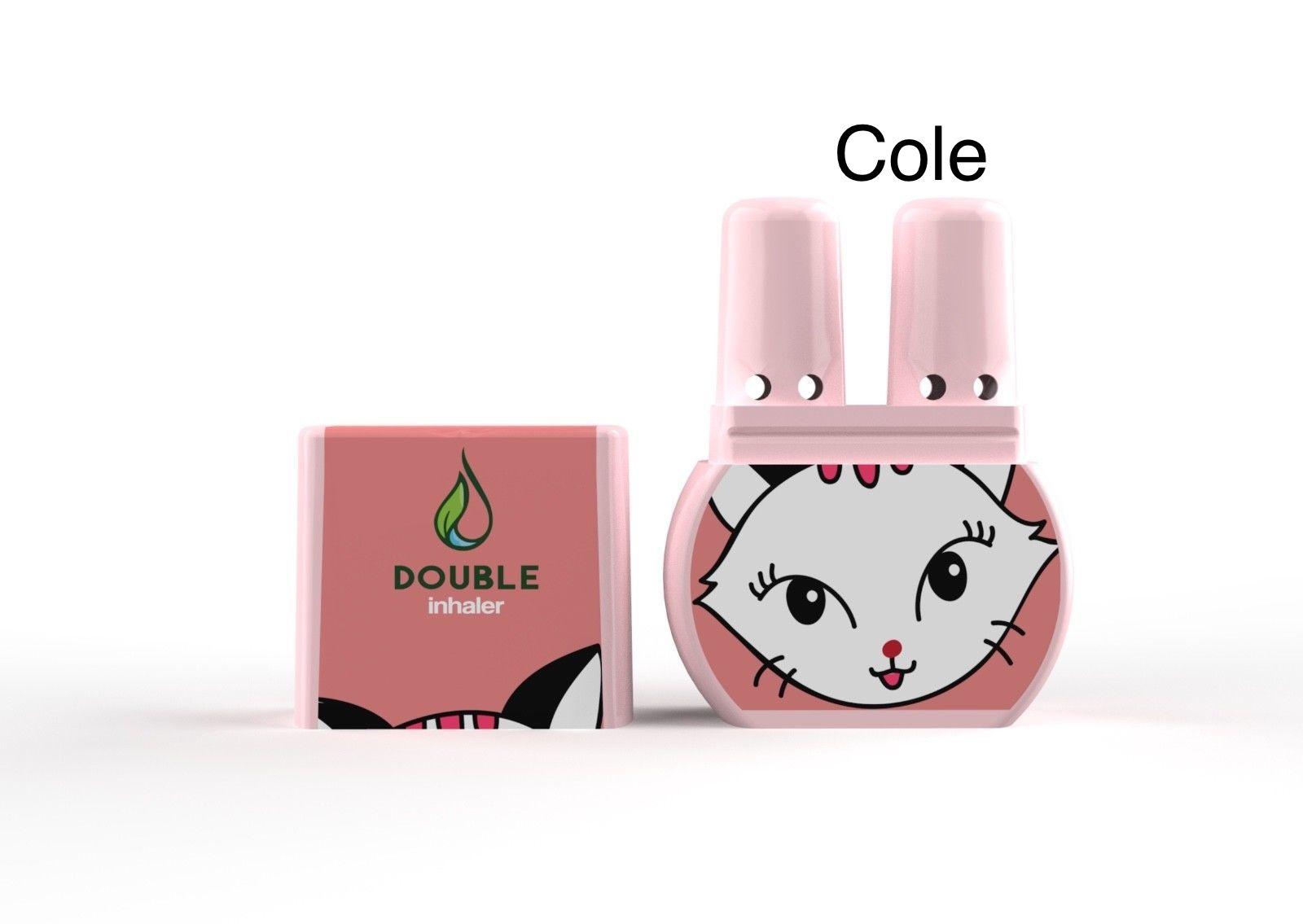 ยาดมดับเบิ้ล แบบ 2 รูดม หอม .. สดชื่น ไม่เหมือนใคร ลาย Cole (แมวสาว)