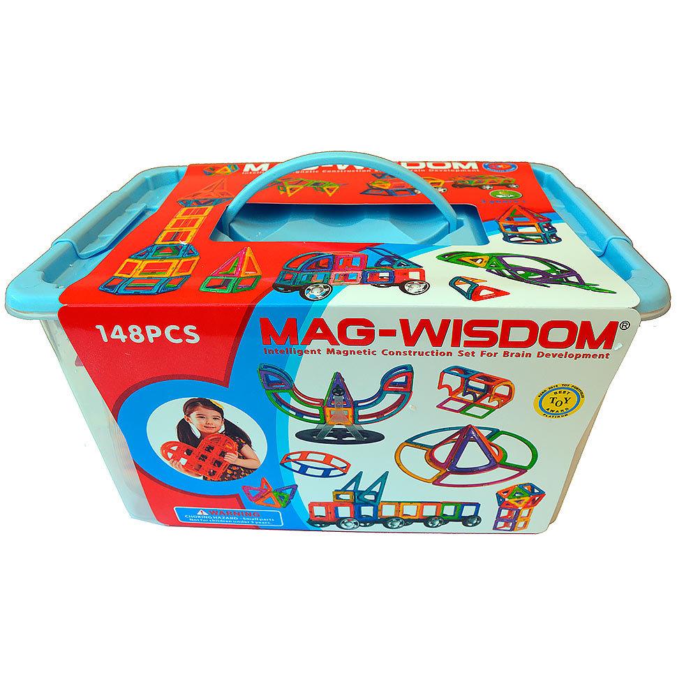 148 ชิ้น ตัวต่อแม่เหล็ก ของ MAG-WISDOM