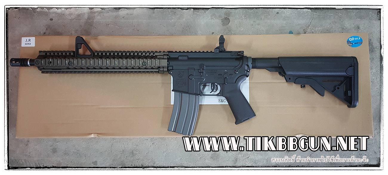 ปืนอัดลมไฟฟ้า M27 IAR จาก E & C รุ่น 626S DE