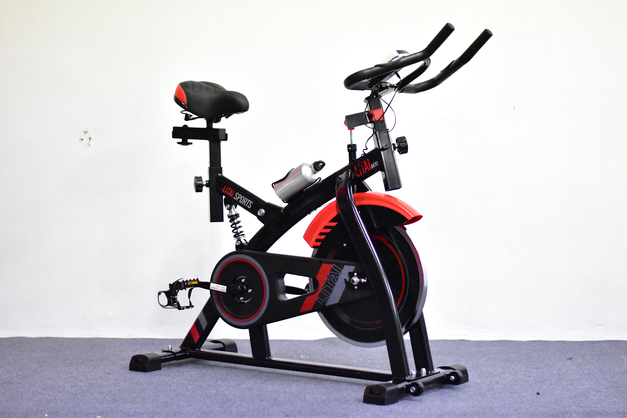 จักรยานออกกำลังกาย LITAI SPORT YX-5001S (แดง/ดำ)
