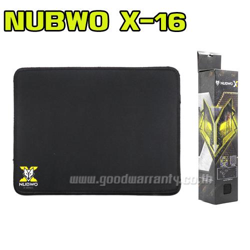 X16 NUBWO MOUSEPAD GAMING
