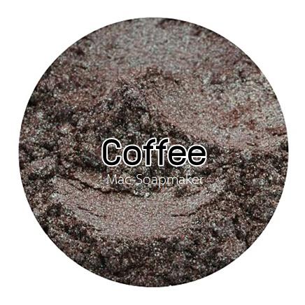 Coffee mica pearlescent pigment/ สีกาแฟประกายมุก