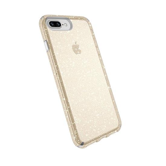 Speck เคสกันกระแทก Speck Presidio Clear Glitter Gold - iPhone8 Plus