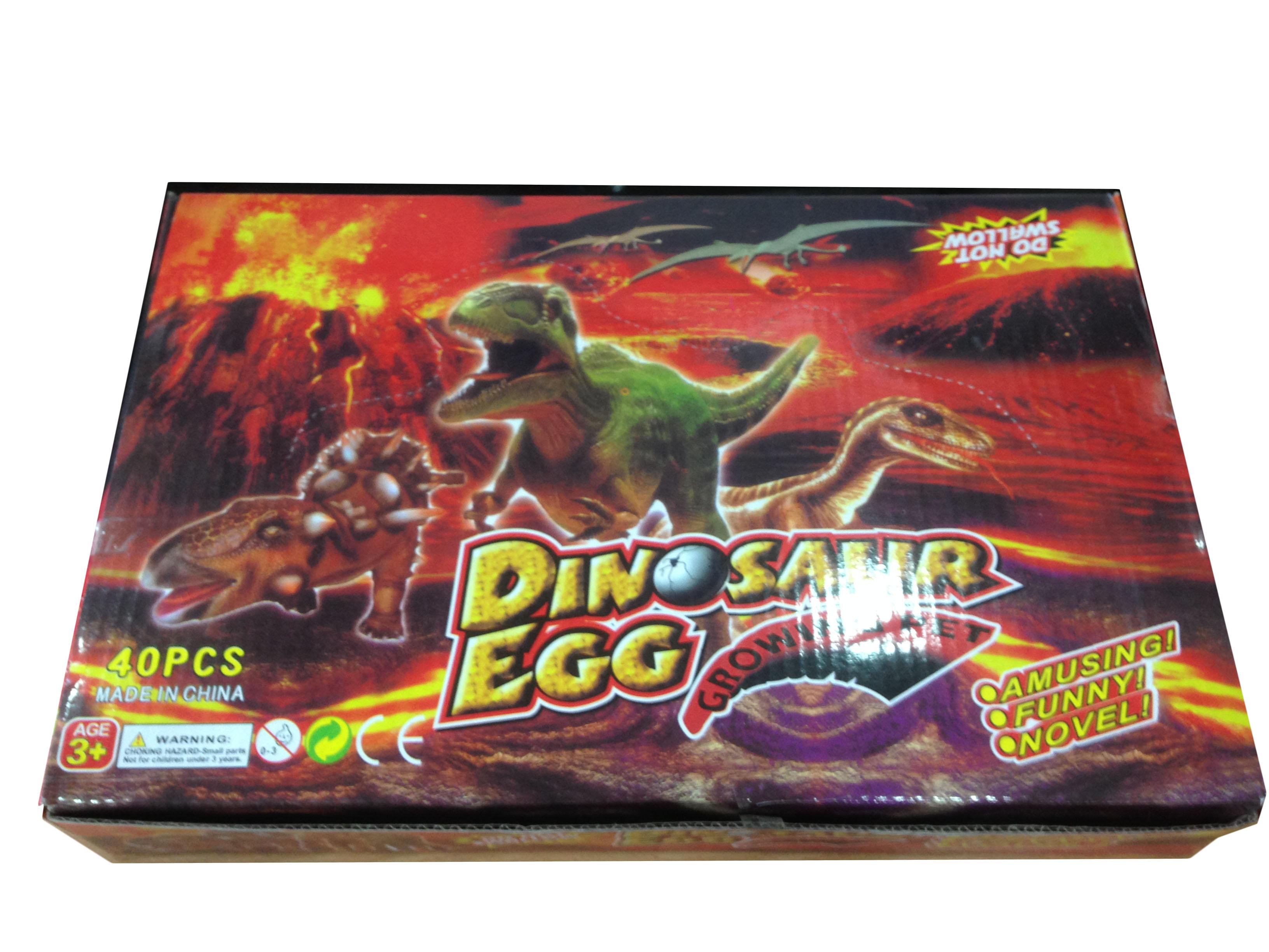 ไข่ไดโนเสาร์แช่น้ำขนาดกลางขนาดแพ้คใหญ่