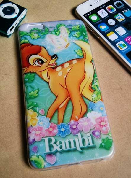 เคสไอโฟน 6 ยางลาย Bambi